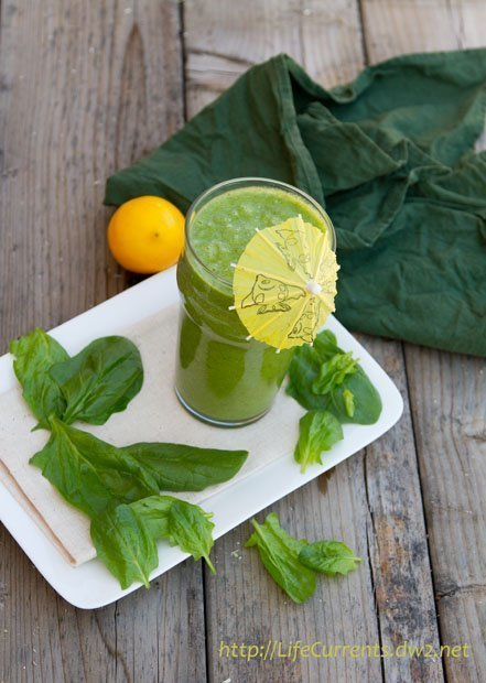 Vanilla Date Coffee Smoothie featured recipe for Green Monster Smoothie - healthy, fresh, and loaded with good taste | Life Currents