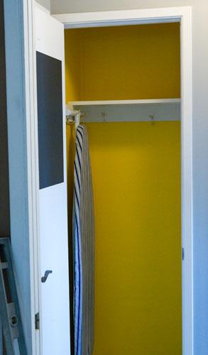 closet in progress: Broom Closet Makeover  #organizing #organize #clean Life Currents