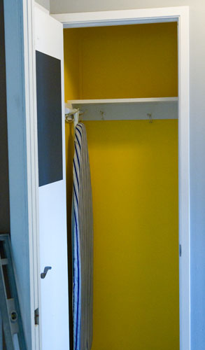 closet in progress: Broom Closet Makeover #organizing #organize #clean Life Currents