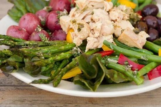 Island Trollers Albacore Tuna Niçoise Salad https://lifecurrentsblog.com Life Currents #albacore #tuna #salad healthy light yummy