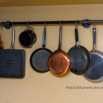 DIY pot rack made from pipes | Life Currents