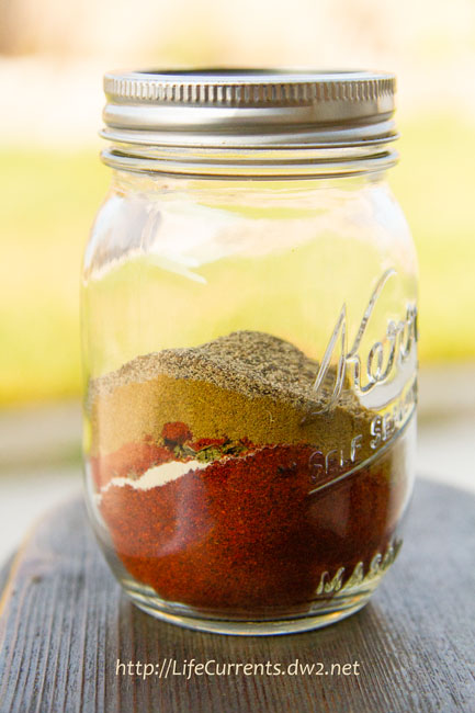 Homemade Taco Seasoning: This Taco Seasoning is ahhh-mazing. It smells so deep and rich. So full of flavor. And, I left the salt out entirely.