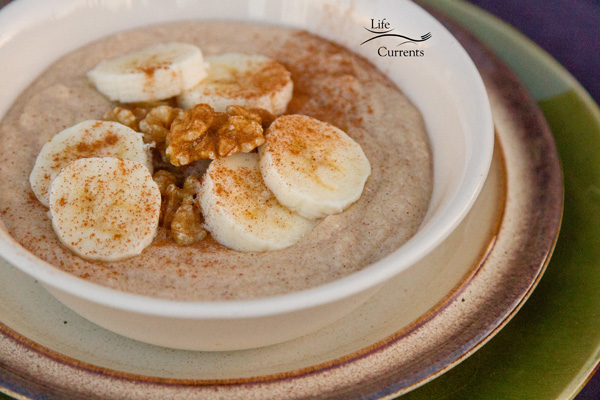Vanilla Breakfast Pudding Recipe - a healthy start to the day