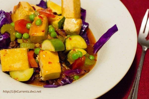 Orange Peel Tofu