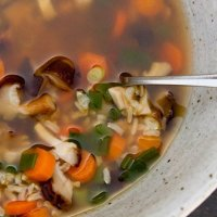 Brown Rice Vegetable Soup