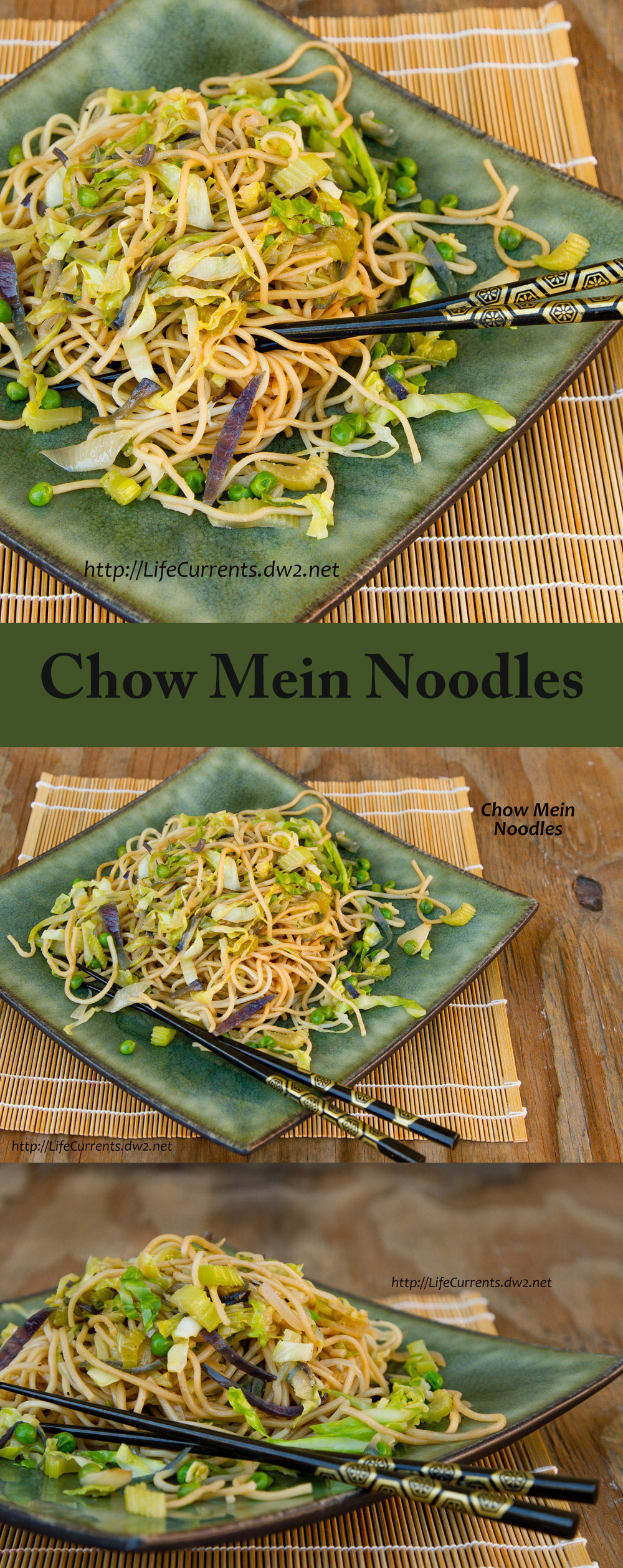 Chow Mein Noodles - These Chow Mein Noodles (or yakisoba as my husband likes to call them) are quick and easy to make, and super delicious