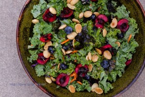 Kale Salad | Life Currents https://lifecurrentsblog.com