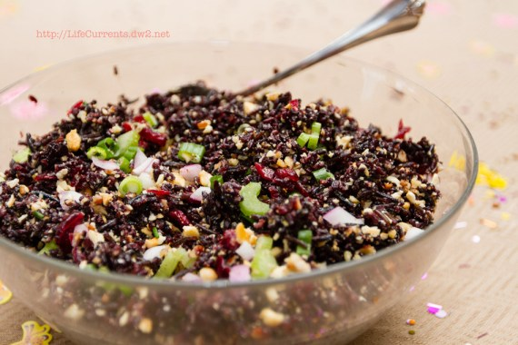 Wild Rice Salad | Life Currents Maria's Baby Shower: As many of you know, my brother and sister in-law are expecting their first baby soon. Here are some pictures from the shower! #babyshower #party #shower