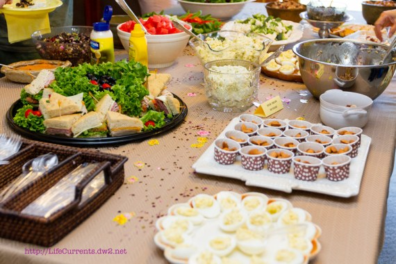Maria's Baby Shower: As many of you know, my brother and sister in-law are expecting their first baby soon. Here are some pictures from the shower! #babyshower #party #shower | Life Currents https://lifecurrentsblog.com