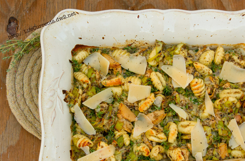 Gnocchi with Mushrooms and Island Trollers Tuna   Life Currents  gnocchi mushrooms recipe albacore tuna