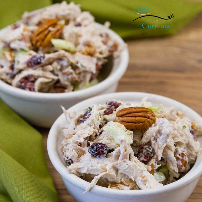 Cranberry Pecan Chicken Salad Recipe - easy - delicious - budget-friendly