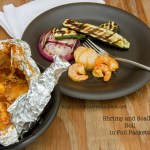 Shrimp and Scallop Boil in Foil Packets | Life Currents https://lifecurrentsblog.com