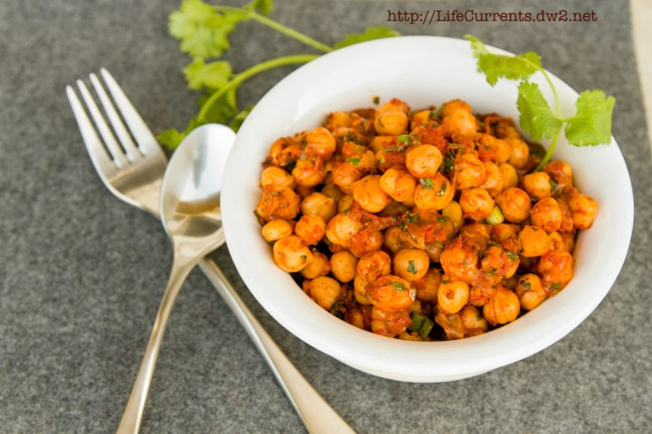 Nacho Roasted Chickpeas | Life Currents