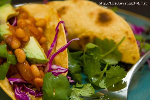 White Bean Potato Tacos | Life Currents