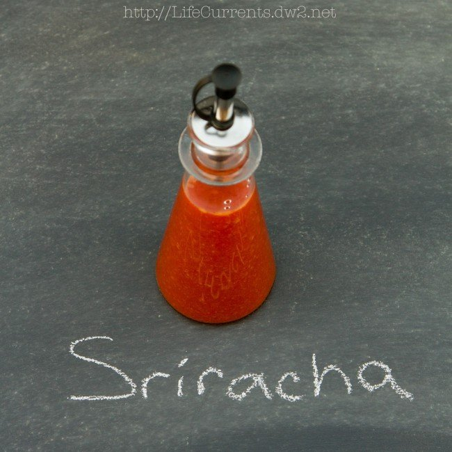 Homemade Sriracha | Life Currents https://lifecurrentsblog.com