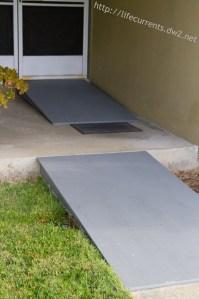 DIY Wheelchair Accessible Ramps | Life Currents https://lifecurrentsblog.com