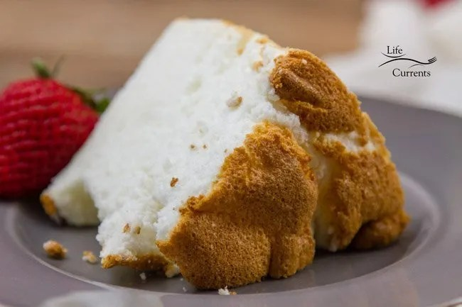 Classic Angel Food Cake from Scratch just like Grandma made!