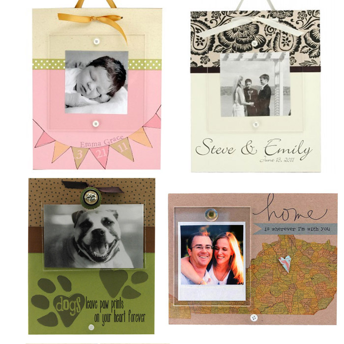 personalized picture frames: CatchingFireflies.com Giveaway