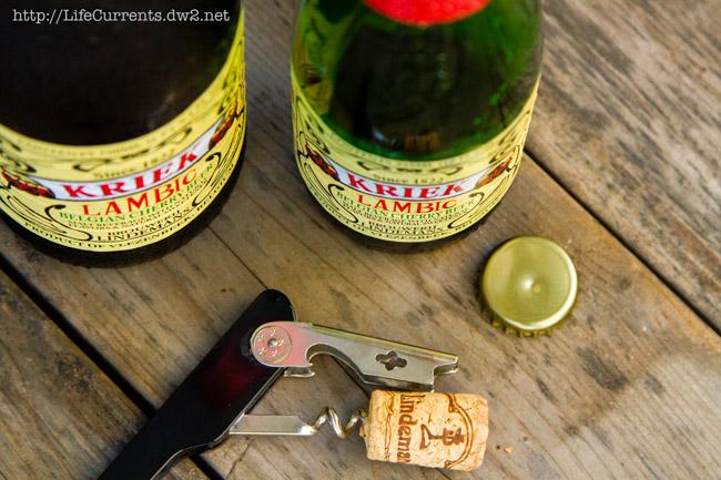 Lambic Ice Cream Float   Life Currents #dessert #iceCream #beverage #beer https://lifecurrentsblog.com