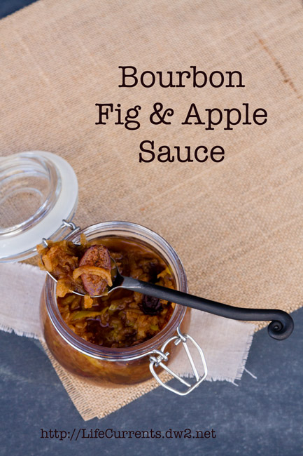 Bourbon Fig & Apple Sauce: great for breakfast or dessert | Life Currents