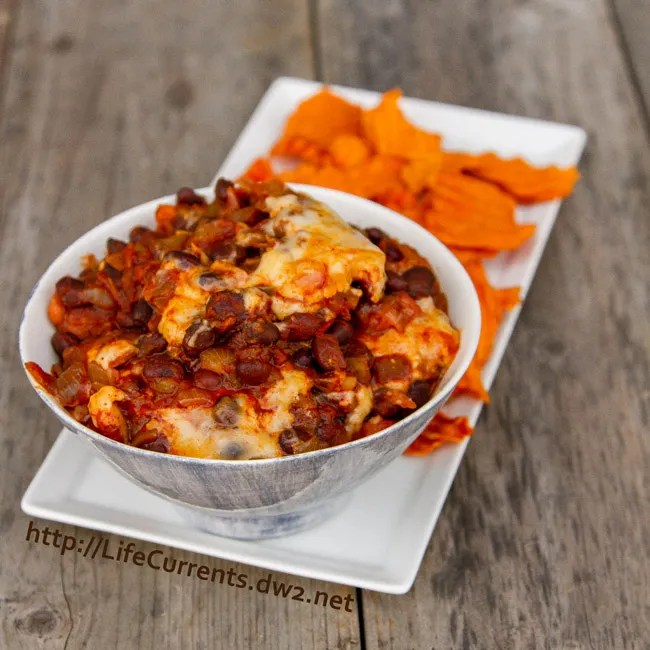 Slow Cooker Chipotle Bean Dip for Tailgating Snack Month on Life Currents