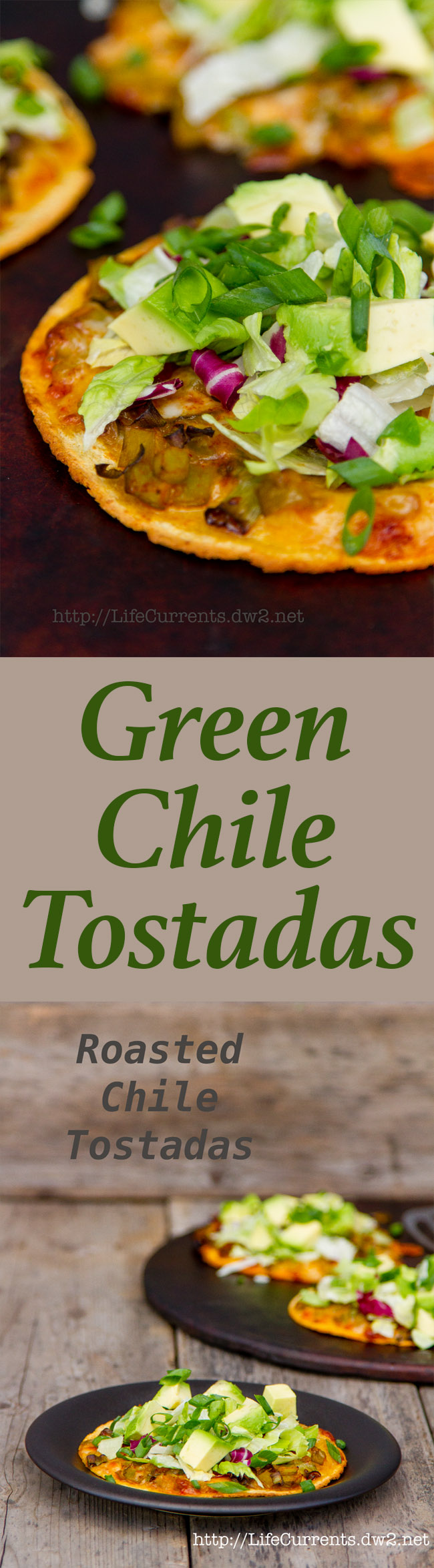 Roasted Chile Tostadas