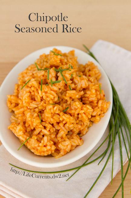 Chipotle Seasoned Rice vegan side dish vegetarian gluten-free