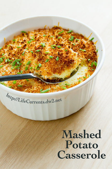 Country Gravy Mix featured recipe for Mashed Potato Casserole