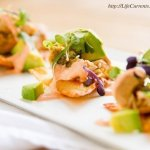 Island Jalapeno Albacore Tuna Poke on Baked Won Ton Wrappers by Life Currents https://lifecurrentsblog.com