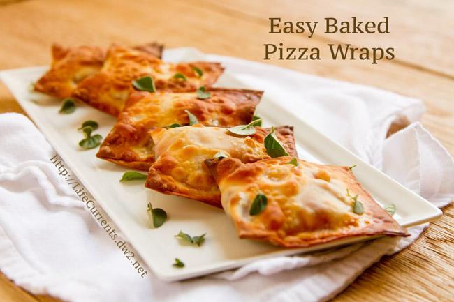 Easy Baked Pizza Wraps   Life Currents Blog https://lifecurrentsblog.com