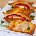 Easy Baked Pizza Wraps | Life Currents Blog https://lifecurrentsblog.com