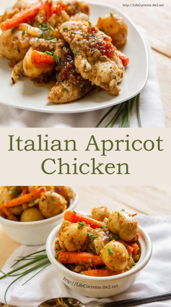 Italian Apricot Chicken Recipe
