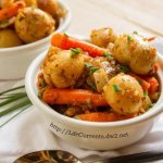 italian apricot stew by Life Currents a Childhood Favorites Remade https://lifecurrentsblog.com