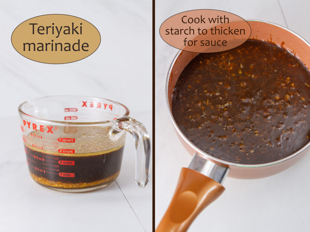 how to make teriyaki sauce and marinade with worcestershire
