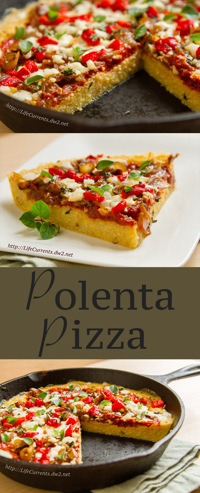 Polenta Pizza Recipe healthy pizza
