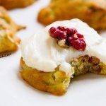 Zucchini Cookies with Cream Cheese Frosting are filling with yummy ingredients like walnuts, coconut, and zucchini. Have them for a snack or even for breakfast! by Life Currents https://LifeCurrents.dw2.net