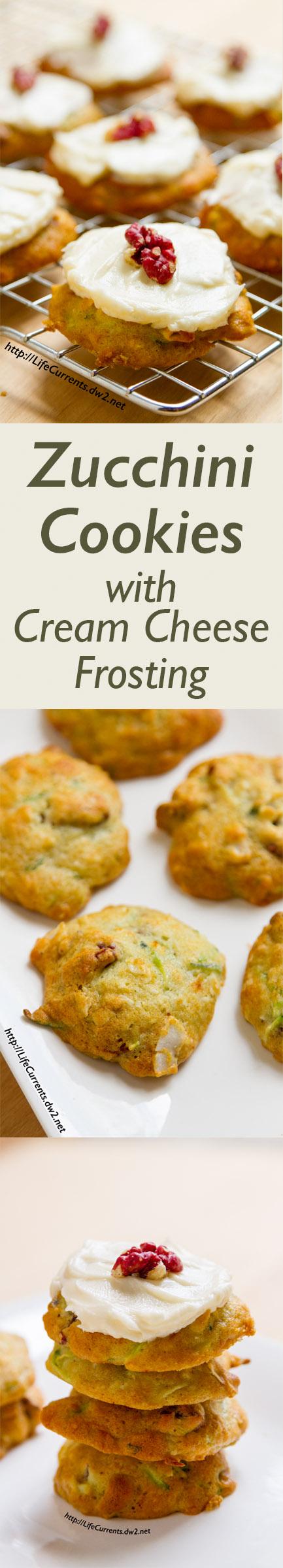 Zucchini Cookies Using Cake Mix