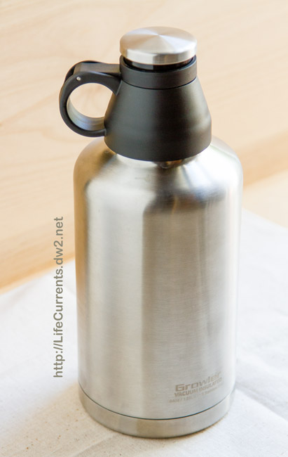 The Reduce Growler makes a great gift for the beer lover in your life! from Life Currents