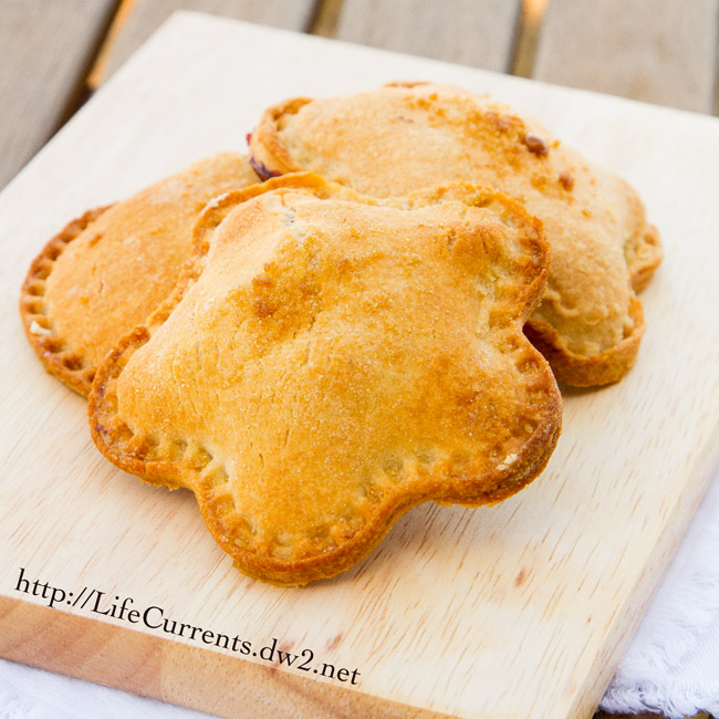 Blackberry Nutella Hand Pies are super fun for back to school lunches! by Life Currents https://lifecurrentsblog.com