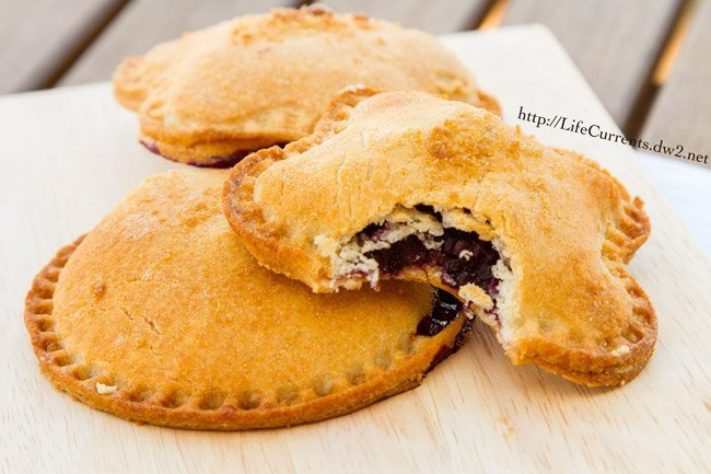Blackberry Nutella Hand Pies are super fun for back to school lunches! by Life Currents