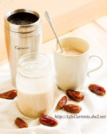 Coconut Milk Coffee Creamer is a rich creamy treat for your coffee that's dairy-free, vegan, Paleo-friendly, and super yummy! Treat yourself today! http://lifecurrentsblog.com