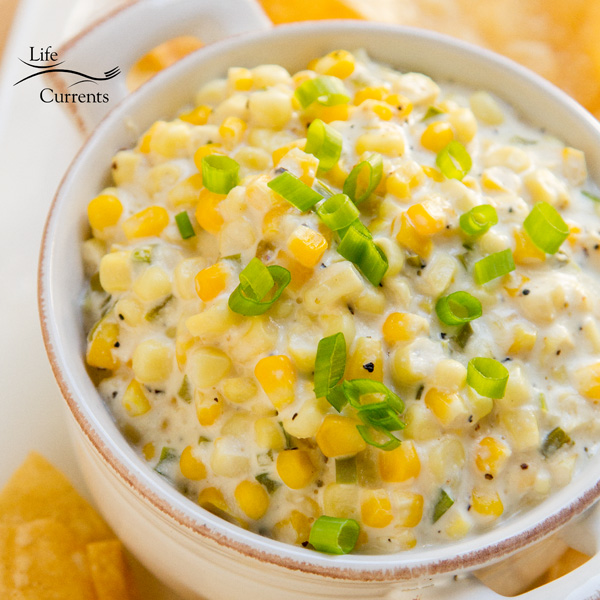 Crock Pot Corn Dip - a delicious and easy appetizer that all your guests will love!