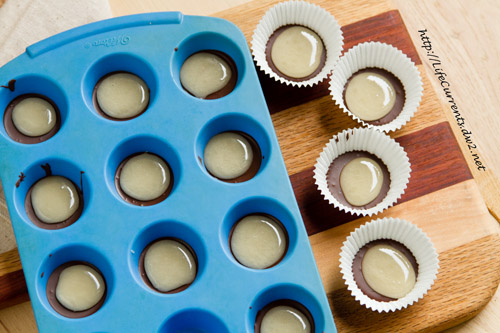 Homemade Peppermint Patties in the making by Life Currents