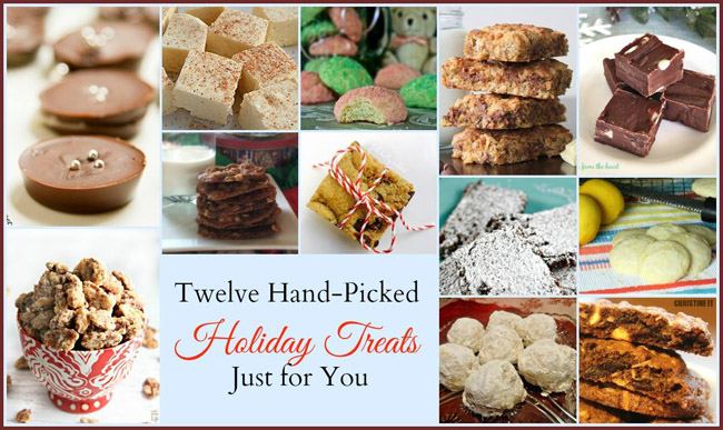 Twelve Hand picked holiday treats Just for YOU! Welcome to our Cookie Excange