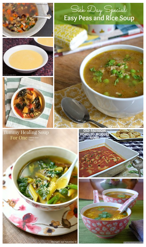 Cold & Flu Busting Help: Soups (but not chicken soups) by Life Currents