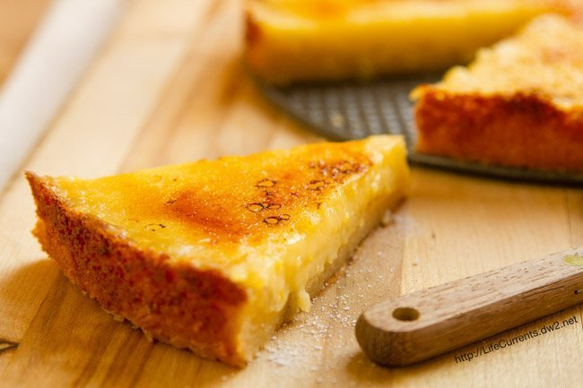 Meyer Lemon Brûlée Tart