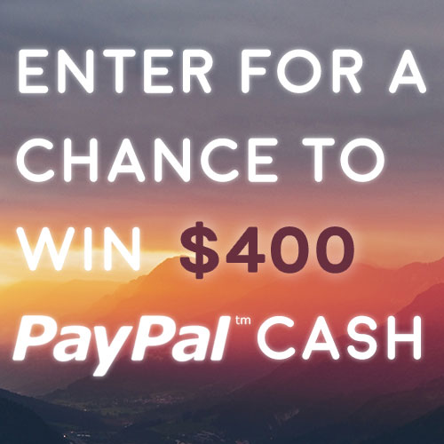 Giveaway: Enter for a Chance to Win $400 Paypal Cash! via Life Currents and some awesome blogs!