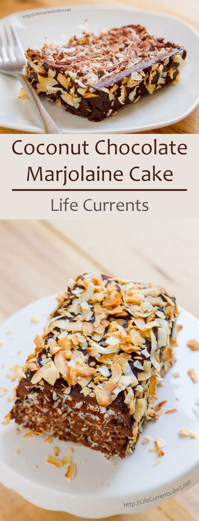 Coconut Chocolate Marjolaine
