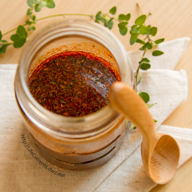 Spicy Smoke Sauce will jazz up everything from fish to tofu, baked potatoes to chili. Come an get this recipe for yourself today! from Life Currents https://lifecurrentsblog.com