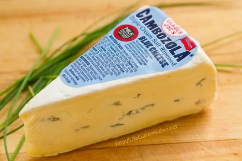 This is the blue cheese I prefer for my Blue Cheese Sauce